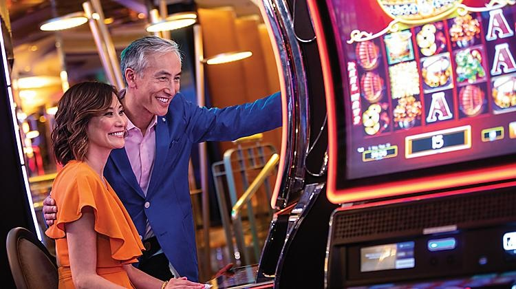 Play an interesting game with a slot machine