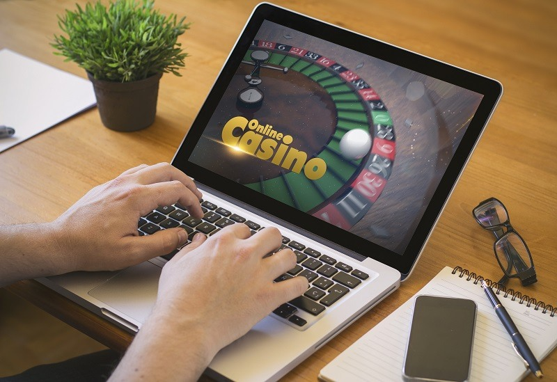 Online casino games played by players